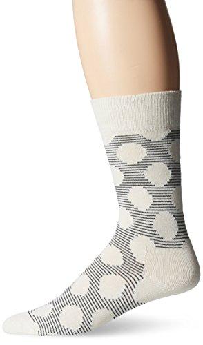 Happy Socks Men's 1Pk Unisex Combed Cotton Crew