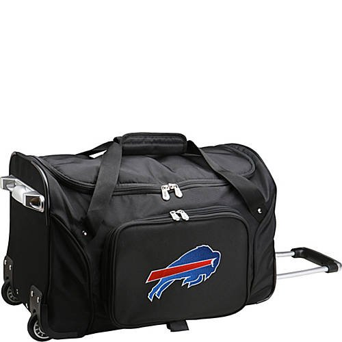 NFL 22'' Rolling Duffel Buffalo Bills by TableTop King