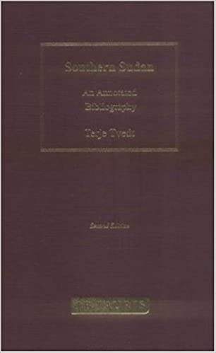 Southern Sudan, Volume 2: An Annotated Bibliography