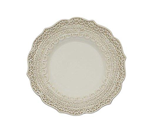 Arte Italica Finezza Bread Plate, Cream