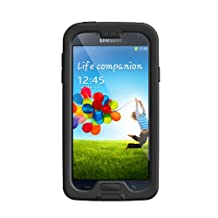 LifeProof Nuud Samsung Galaxy S4 Waterproof Case - Retail Packaging - Black/Clear