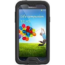 LifeProof Nuud Samsung Galaxy S4 Waterproof Case - Retail Packaging - Black/Clear