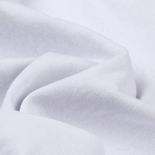 Femme Uni Holywin Jeans Blanc Jean 4TPg7