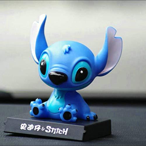Cute Creative Cartoon Car Jewelry Stitch Star Baby Car Pendant Shake Head Doll 10cm 2