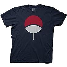 Ripple Junction Naruto - Shippuden Sasuke Uchiha Symbol Adult T-Shirt