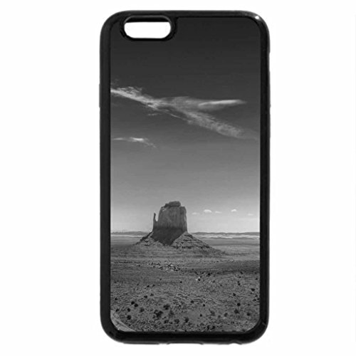 iPhone 6S Case, iPhone 6 Case (Black & White) - Monument Valley