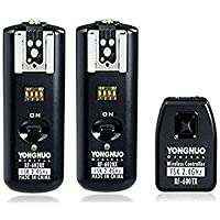 Yongnuo RF-602 2.4GHz 100M Wireless Remote Flash Transmitter with 2 Receivers for CANON PoweShot 650D, 600D300D.1D / 1DS, EO0S 5D Mark II / 5D / 50D / 40D / 30D / 20D / 10D