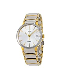 Rado Men's 'Centrix' Swiss Stainless Steel Automatic Watch, Color:Two Tone (Model: R30529103) by Rado