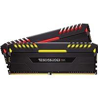 Corsair Vengeance RGB 16GB (2 x 8GB) PC4-24000 3000MHz DDR4 288-Pin DIMM Desktop Memory