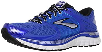 Brooks Men's Glycerin 11 Running Shoes, Color: BrllntBlu/Skydvr/Slvr/Blck/Wht, Size: 7.0