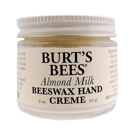 Burt's Bees Almond Milk Beeswax Hand Cream 2oz 57g Hands & Nails Care (Almond Milk Beeswax Hand Cream)