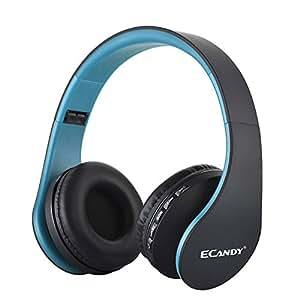 Amazon.com: Ecandy Bluetooth Headphones Over-Ear Stereo