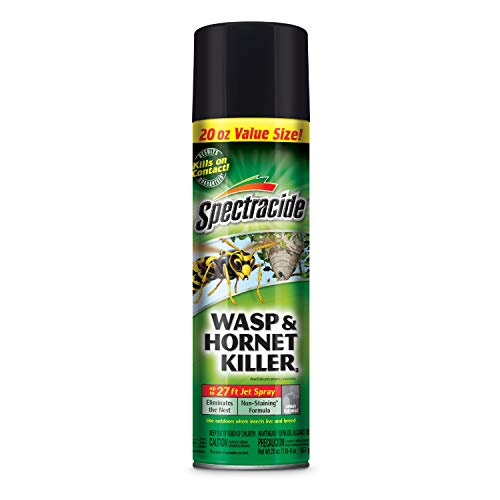 - Spectracide 95715-1 Wasp and Hornet Killer Aerosol, 20-Ounce, Pack of 12