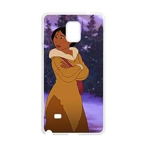 Samsung Galaxy Note 4 Cell Phone Case White Disney Brother Bear Character Kenai 07 Ohjmj