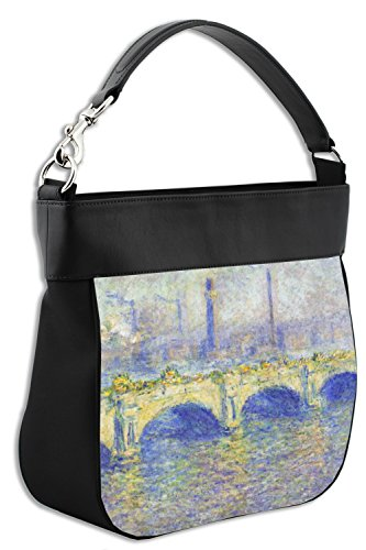Front Trim Claude Waterloo Leather Purse by Hobo w Back Monet Bridge Genuine amp; qqwAzv