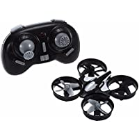 Original Black H36 RC Drone 2.4G 4CH 6-Axis Gyro RTF Quadcopter 3D-Flip Headless Mode One-Key Return Anti-Crush UFO Mini Drones