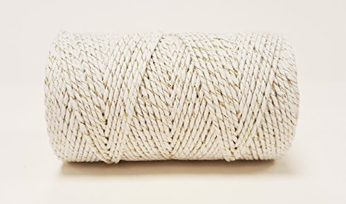 quality-cotton-white-gold-sparkle-bakers-twine-100m-by-james-lever-everlasto
