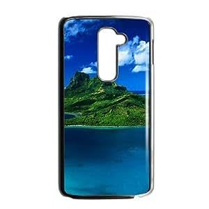 Beautiful Nature Landscape Black Phone Case for LG G2
