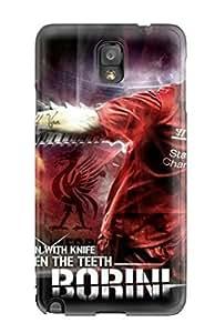 New Fabio Borini pc Case Cover, Anti-scratch AnnDavidson Phone Case For Galaxy Note 3