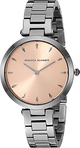 Rebecca Minkoff Women's T-Bar - 2200280 Rose Gold One Size