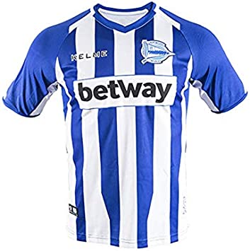 KELME Camiseta Alaves 1ª Equipacion 18/19 - Camiseta fútbol Unisex Adulto: Amazon.es: Ropa y accesorios