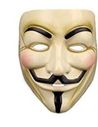 Masks for V for Vendetta Halloween Masquerade Costume Cosplay Anonymous Mask
