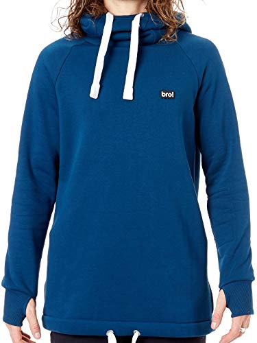 N Sudadera De Snowboard Con Classic Chill Collection Capucha Azu Faded Shred  Bro O7YqY 8869bb94a70