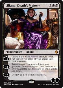 Liliana, Death's Majesty - Amonkhet