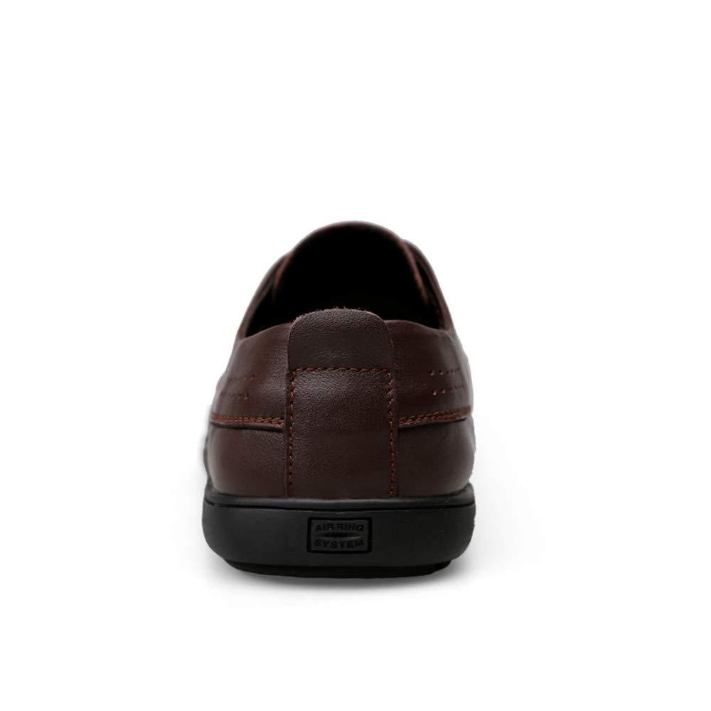 Xujw-schuhe, 2018 weiche Schuhe Herren Männer Bequeme weiche 2018 Runde Spitze Spitze Dreidimensionale Business Oxford Casual einfache Formale Schuhe (Farbe : Braun, Größe : 38 EU) Braun 31072b