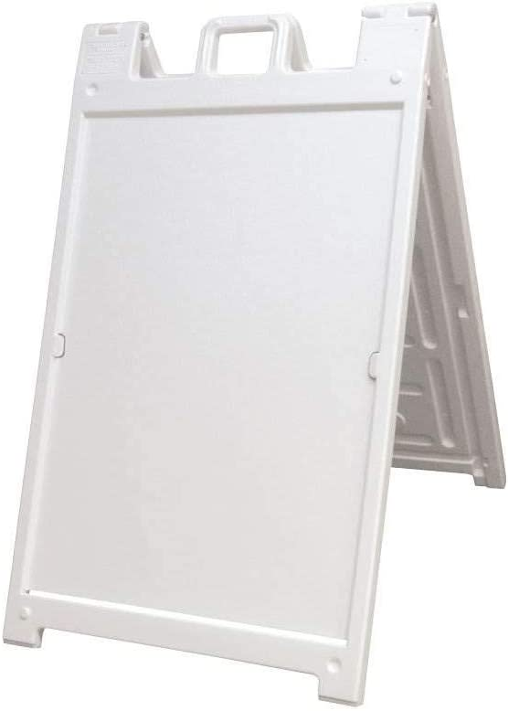 """Black Best Seller 24 x 36/"""" Deluxe Signicade Plastic Outdoor A Frame Curb Sign"""