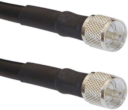 MPD Digital LMR-400-uhf-1 LMR-400 PL259 Coax Ham or CB Radio Jumper Antenna Coaxial Cable Jumper