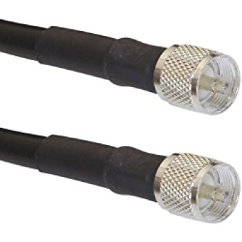 MPD Digital rg213-50-pl259 50-Feet Antenna Cable of RG-213/U Super Low-Loss Double Shielded Coax Cable with PL-259 Connectors