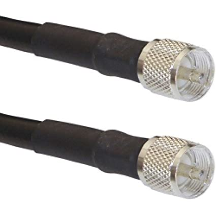 Times Microwave LMR-400 PL259 Coaxial Cable (20 Feet)