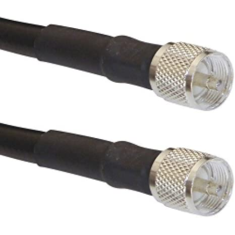 Times Microwave LMR-400 PL259 Coaxial Cable (2 Feet)