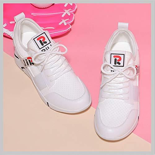Sneakers Trekking Basse Antiscivolo Visiera Da Con Donna Bianca Scarpe Primavera Invisibili Autunno Sportive Casual Ginnastica Yan O0TqAxnYw