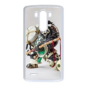 Chen Stormstout LG G3 Cell Phone Case White 218y-668845