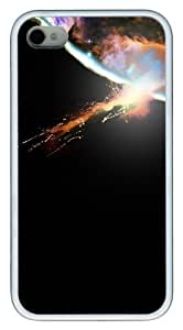 abstract astronomy TPU White Case for iphone 4S/4 Kimberly Kurzendoerfer