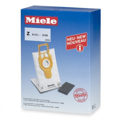 Miele Type Z Intensive Clean FilterBags - S170 - S185 *2 Pack* (10 Bags) (Intensive Bags Filter Clean)