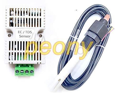 Lysee TDS sensor module EC transmitter conductivity 4-20mA analog voltage output RS485 output - (Color: 0-2200 uscm - Transmitter Module 485