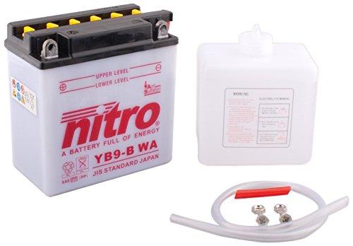 NITRO YB9-B WA -N- Batteries Schwarz (Preis inkl. EUR 7, 50 Pfand) DC AFAM NV