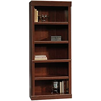 Sauder 102795 Heritage Hill Library L 2980 X W 1299 H 7126 Classic Cherry Finish