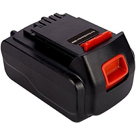 Masione 20v Max 4 0Ah Lithium Ion Extended Battery For Black Decker LBXR20 LBXR20 OPE LB20 LBX20 LBX4020 LB2X4020 OPE Cordless Tools