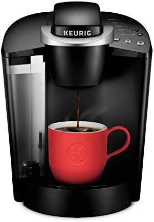 Keurig Okay-Classic Coffee Maker, Single Serve Okay-Cup Pod Coffee Brewer, 6 to ten Oz. Brew Sizes, Black