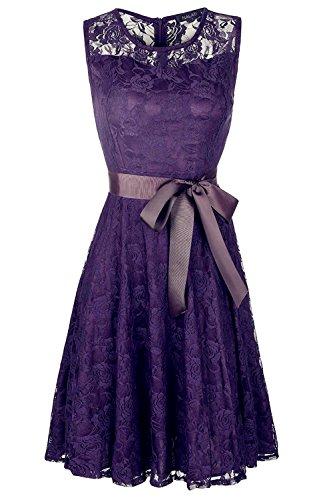 Sleeveless Bow Front Dress - 9