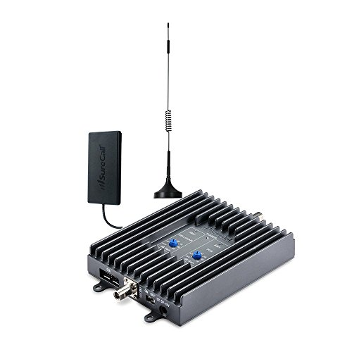 SureCall Flex2Go Dual Band Cell Phone Signal Booster Kit for Vehicles, All Carriers Voice & Text