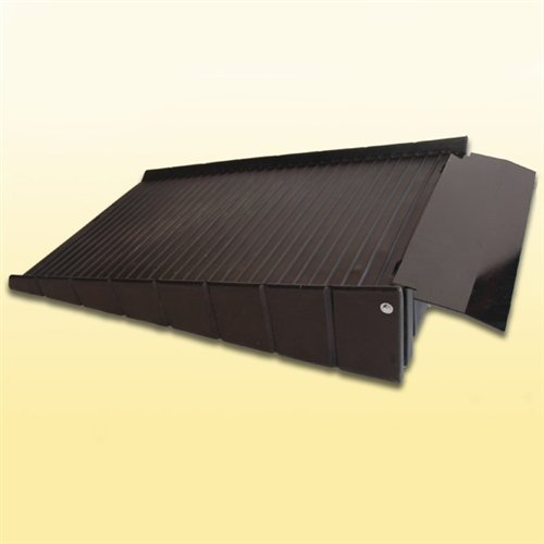 "Ultratech 0676 Polyethylene Loading Ramp with 8"" Plate, 7..."
