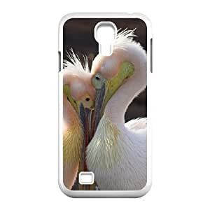 Dustin Pelican Love Samsung Galaxy S4 Cases, [White]