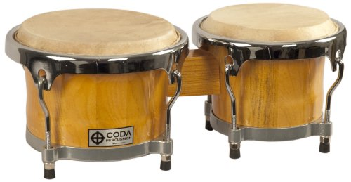 CODA DP-220 Bongo Drum, Natural by CODA