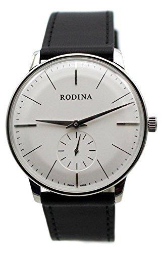 Viento Reloj Banda Rodina Hombres Mano Negro Ultra Oem Thin Clásica l15c3uTFKJ