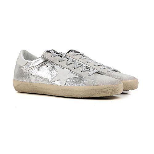 Golden Goose Superstar Sneakers Läder För Kvinnor Storlek 36 (5,5 Oss) G30ws590.c16